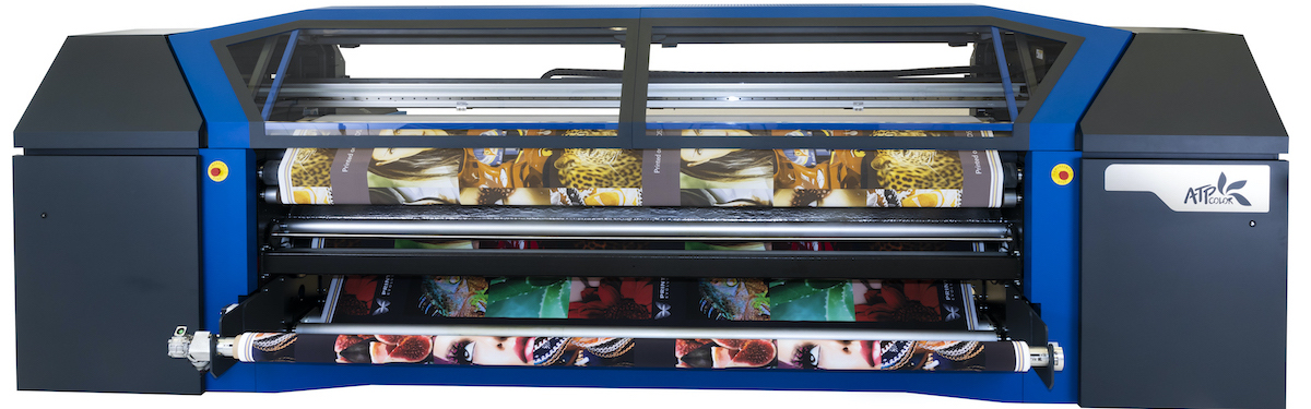 Direct to fabric textile printer 3.3 m wide