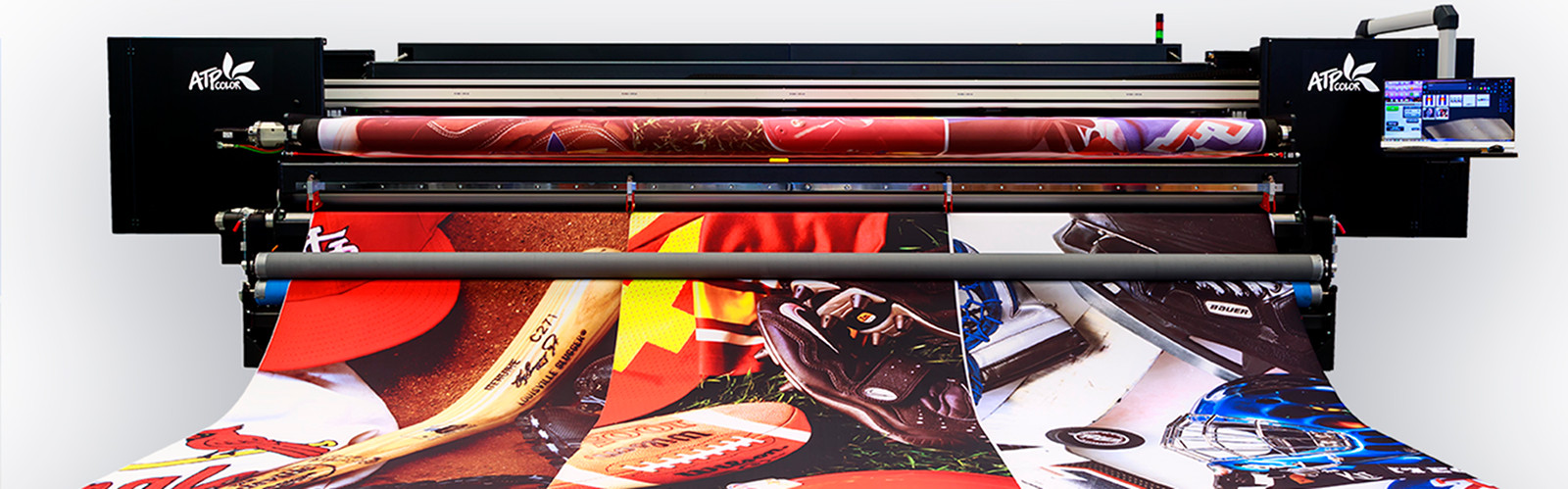 Direct to fabric textile printer 5 m wide